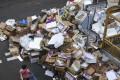 Paper and cardboard piled high on the Hong Kong streets. Photo: Sam Tsang