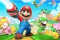 Mario + Rabbids Kingdom Battle for the Nintendo Switch sees Mario and crew team up with their Rabbid doppelgängers to fight through XCOM-like strategy puzzles.