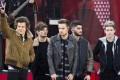 Harry Styles, Louis Tomlinson, Liam Payne, Zayn Malik and Niall Horan were the original One Direction. Photo: AP