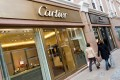 Richemont, which owns Cartier, announced constant currency sales for the group rising 12 per cent in the five months to the end of August. Photo: Alamy