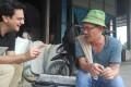 Karim Raslan speaks to Pak Darwin, a rice miller in the city of Medan, North Sumatra. Photo: Handout