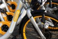 oBike launched in Hong Kong on Friday. Photo: David Wong