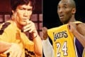 Bruce Lee and Kobe Bryant