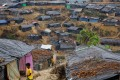Rohingya refugees are living in temporary shelters at a camp in Cox's Bazar, Bangladesh. Photo: Reuters