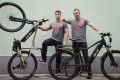 FLX Bike founders Rob Rast (left) and Pete Leaviss (right), whose company manufactures electric bikes in China to sell in the US. Photo: Samuel Croskery
