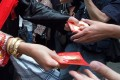 Giving cash as gifts is a tradition at Chinese weddings. Photo: Handout