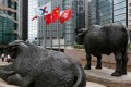 The Hang Seng Index rose 0.2 per cent to 28,114.46 by noon on Wednesday. Photo: Reuters