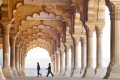 Hall of public audience at Agra Fort. Photo: Alamy
