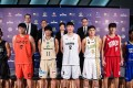 Representatives of each team line up at the press conference on the opening day in Macau. Photos: The Super 8