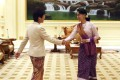 Myanmar's State Counsellor Aung San Suu Kyi (right) greets visiting Hong Kong Chief Executive Carrie Lam at the Presidential Palace in Naypyidaw on September 15. Photo: AP