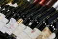 Bottles of Bordeaux on display at a recent wine fair in the French region. Bordeaux has been one of the drivers behind rising values of fine wines. Photo: Reuters