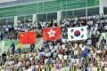 Hong Kong struck gold at the Indoor Games. Photos: SF&OC