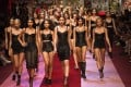 Models show Dolce & Gabbana creations during the women's spring/summer 2018 fashion shows in Milan. Photo: AFP