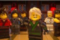 The 'Green Ninja' Lloyd (voiced by Dave Franco) with his clan in The Lego Ninjago Movie (category I) directed by Charlie Bean, Paul Fisher and Bob Logan. It also stars Jackie Chan and Justin Theroux.