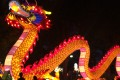 Featuring a 200-foot undulating dragon, Philadelphia's lantern festival drew more than 20,000 people, each of whom paid US$25 to snap selfies among the illuminated figures. Photo: Robert Delaney