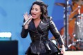 Singer Demi Lovato loves being compared to Adele but it's her activism and charity work that take precedent. Photo: Reuters