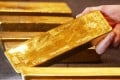 Gold is set for its biggest monthly loss this year. Photo: AP