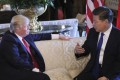 Chinese President Xi Jinping meets with his US counterpart, Donald Trump, in the latter's Florida resort of Mar-a-Lago on April 6, 2017. Photo: MCT