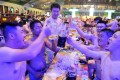 A research note from Credit Suisse says that Chinese brewers will benefit from the free spending habits of young consumers. Photo: AFP