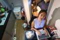 Sarah Wong Un-kuan, a final-year student at HKU, used to live in a subdivided flat. Photo: David Wong