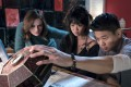 Teenaged Hong Kong film-goers can look forward to seeing (from left) Joey King, Alice Lee and Ki Hong Lee in the film Wish Upon (category; IIB), directed by John R. Leonetti. Ryan Philippe co-stars