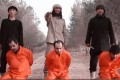 A screenshot from an Islamic State video featuring Malaysian extremist Mohd Rafi Udin (right). Photo: YouTube