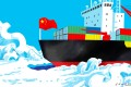 It is no secret that China has been planning to utilise the warming Arctic Ocean to improve trade and logistics ties with Europe. Illustration: Craig Stephens