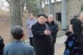 North Korean leader Kim Jong-un's younger sister Kim Yo-jong (centre, behind Kim Jong-un) has become one of the most powerful women in North Korea. Photo: KCNA
