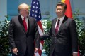 US President Donald Trump and Chinese President Xi Jinping. Photo: Reuters