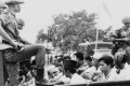 Members of the youth wing of the Indonesian Communist Party are taken to prison in 1965. Photo: AP