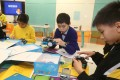 Students at a Hong Kong primary school learning robotics. US firm Wonder Works sees growing demand for its educational robots in Asia as the importance of science and technology learning increases. Photo: K.Y. Cheng