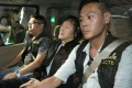 Kwok is driven away in police custody on Wednesday. Photo: SCMP Pictures