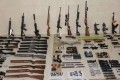 Police raids across China led to the arrest of 58 suspects, and the seizure of dozens of weapons and thousands of bullets. Photo: Thepaper.cn