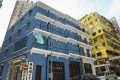 The Blue House in Wan Chai was built in the 1920s. Photo: Edmond So