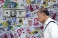 China's foreign exchange reserves saw their ninth straight monthly increase. Photo: Reuters