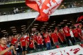 Hong Kong fans have recently booed the national anthem. Photo: Reuters