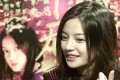 Chinese actress Vicki Zhao Wei speaks during an interview in Hong Kong. Photo: Reuters