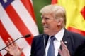 """In a contentious move, US President Donald Trump aired his new strategic """"Indo-Pacific"""" concept at the Apec leaders' meeting. Photo: EPA"""