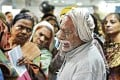 This image of Nand Lal, crying after losing his spot in a bank queue, became emblematic of the havoc caused by Indian Prime Minister Narendra Modi's note ban. Photo: Twitter