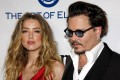 Amber Heard and then-husband Johnny Depp in 2016. Photo: Lumeimages/Sipa USA/TNS