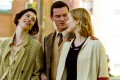 Rebecca Hall, Luke Evans and Bella Heathcote in Professor Marston and the Wonder Women (category: III), directed by Angela Robinson. It also stars Oliver Platt and Connie Britton.