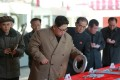 North Korean leader Kim Jong-un pictured during a factory inspection earlier this month. Photo: Reuters