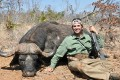 Donald Trump Jr. with a buffalo he killed on a trip to Zimbabwe in 2011. Photo: Hunting Legends