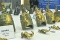 Thousands of rare artefacts were recovered following the raids. Photo: news.sina.com.cn
