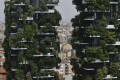 The Bosco Verticale residential building in Milan, Italy. The real estate sector makes up 14 per cent of the country's economy, but property firms are poorly represented on its financial markets, a situation the government is trying to change. Photo: AP