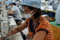 The garment industry is a major source of employment in Vietnam with the bulk of the clothes destined for export. Photo: AFP