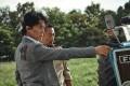 Masaharu Fukuyama (front) and Zhang Hanyu in a still from Manhunt, directed by John Woo.