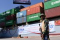 The plan will connect China's landlocked far western Xinjiang region with Gwadar Port in Pakistan. Photo: AFP