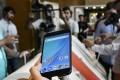 A Xiaomi smartphone launch in New Delhi. Photo: Bloomberg