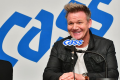 British celebrity chef Gordon Ramsay speaks during a press conference at Conrad Seoul, Saturday. Photo: Oriental Brewery